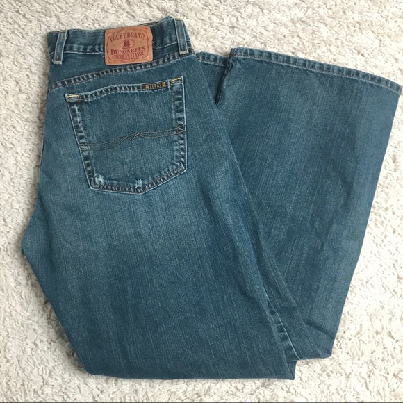 Lucky Brand Dungarees Fender Jean